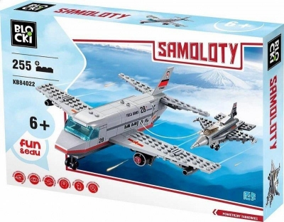 Klocki Blocki: Samoloty 255 elementów (KB84022)