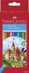 Kredki Faber-Castell Zamek 12 kolorów