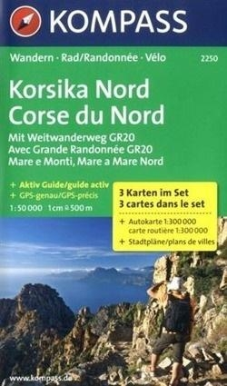 Korsika Nd 1:50 000 Kompass praca zbiorowa