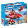 Playmobil City Action: Zestaw straż pożarna z motorem podwodnym (9503) (Uszkodzone opakowanie)