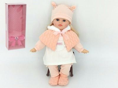 Lalka Adar 40cm, w zimowym ubranku, z dźwiękiem: śpiewa i mówi po polsku 400 mm (526228)
