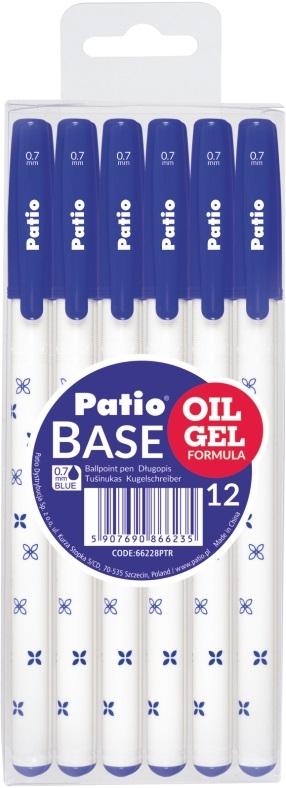 Długopis Base niebieski (66228PTR)