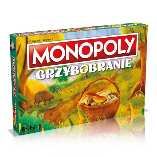 Gra Monopoly Grzybobranie (WM01340-POL-6)