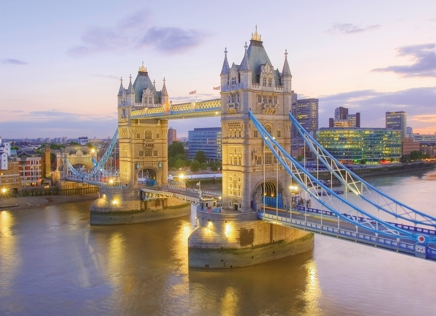 Puzzle High Quality Collection 1000: Tower Bridge (39022)