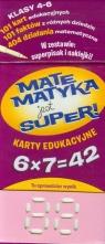 Matematyka jest super Mnożenie Karty edukacyjne  (1229)