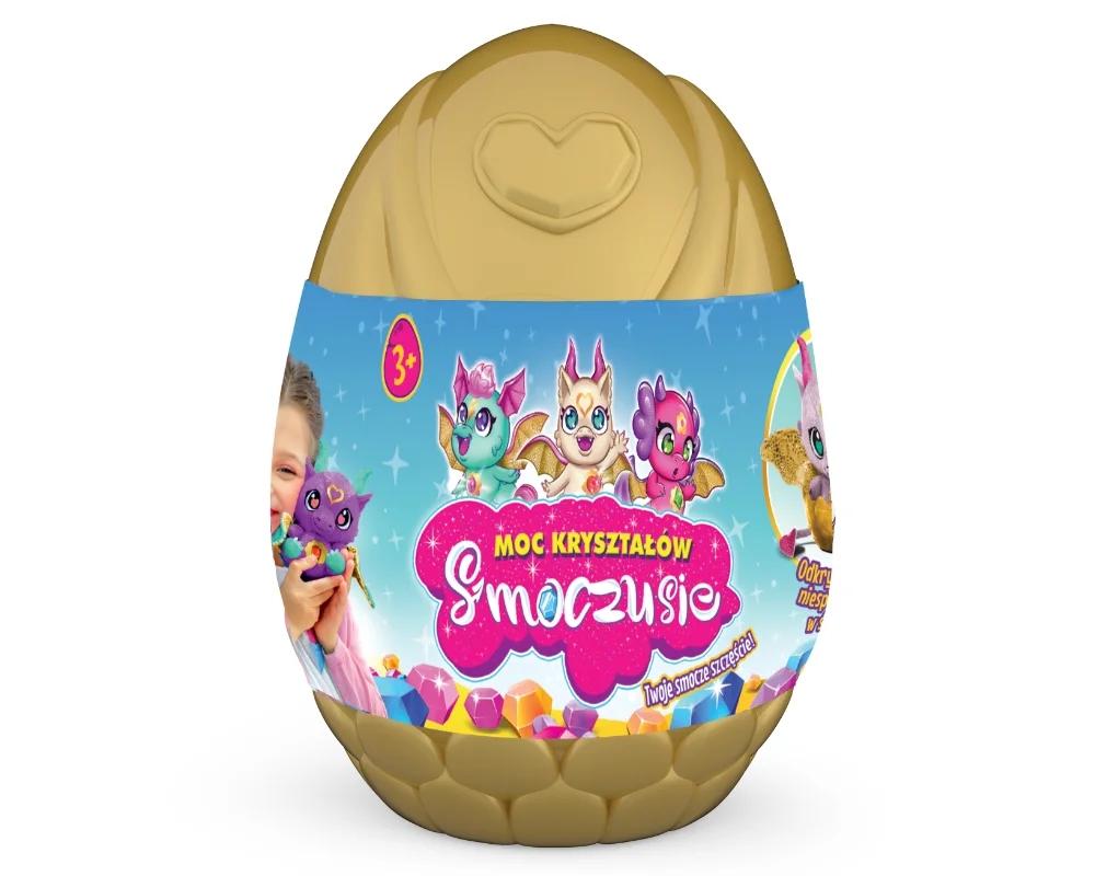 Smoczusie: Moc Kryształów - Plusz w jajku Aura (EP04110)