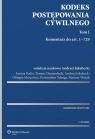 Kodeks postępowania cywilnego Komentarz Tom 1 i 2 Bodio Joanna, Demendecki Tomasz, Jakubecki Andrzej, Marcewicz Olimpia, Telenga Przemysław