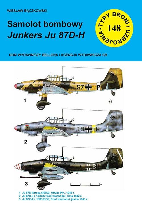 Samolot bombowy Junkers Ju 87 D-H Bączkowski Wiesław