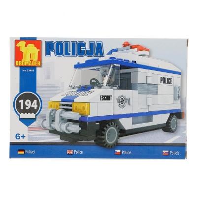 Klocki plastikowe Dromader SAMOCHÓD POLICYJNY (23405)