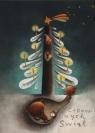 Karnet Cudownych świąt Misie