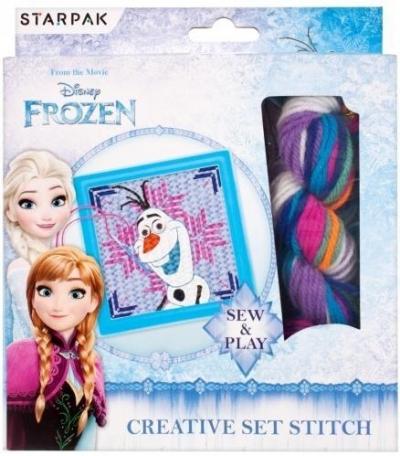 Zestaw kreatywny do wyszywania Frozen (Uszkodzenie opakowania)