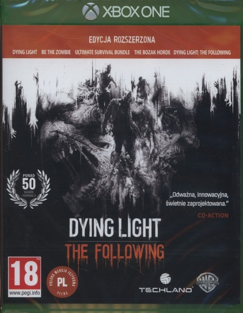 Dying Light The Following Edycja rozszerzona xBox One