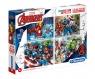 Puzzle 4 w 1: SuperColor - Avengers (07722) Wiek: 3+