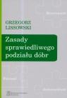 Zasady sprawiedliwego podziału dóbr Lissowski Grzegorz