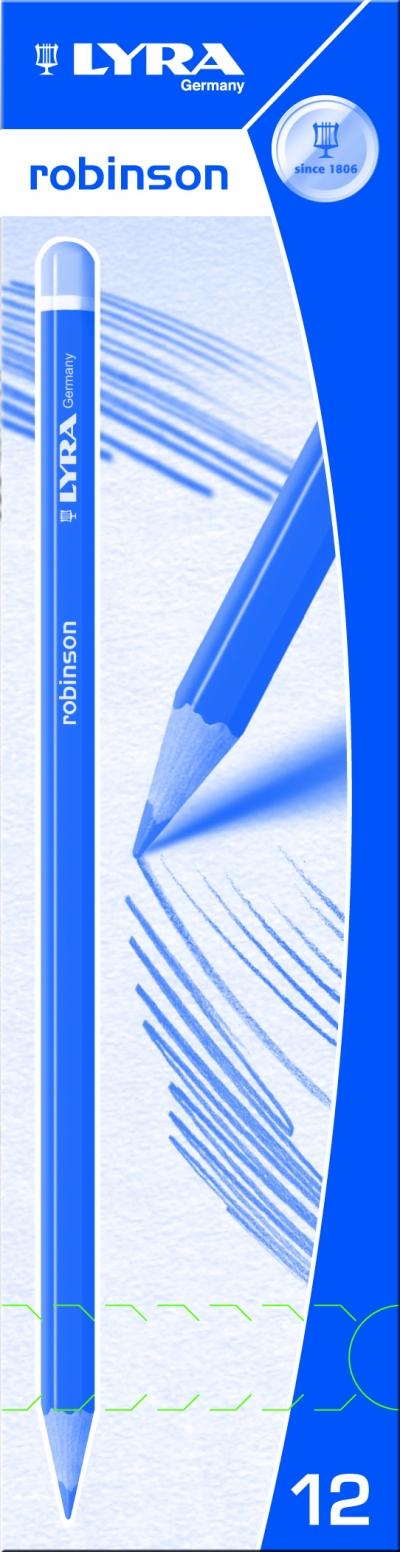 Ołówek Lyra Robinson 4H 1210114