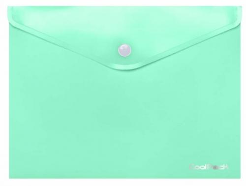 CoolPack Pastel, Koperta na dokumenty A4 - miętowa (81230CP)