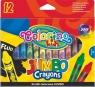 Kredki świecowe - Jumbo - 12 kolorów(32230PTR)