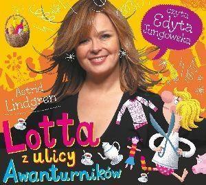 Lotta z ulicy Awanturników. Książka audio CD MP3 Astrid Lindgren