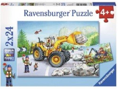 Puzzle Maszyny w pracy 2x24