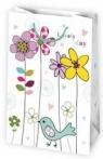 Torba T3 / kwiaty, grafika kolorowa, kropeczki MIX op-10 szt  /160x240x70 /