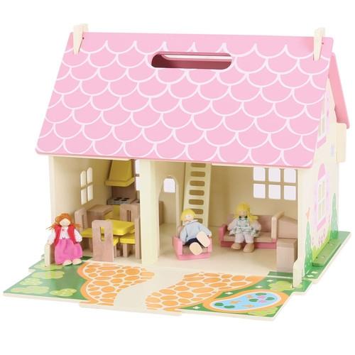 Mobilny domek dla lalek (JT123)