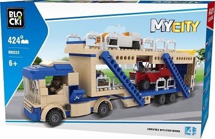 Klocki Blocki: MyCity - Laweta 424 el. (KB0211)