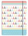 Notatnik PP my.book Flex A4/2x40k linia, kratka - Pastel (50009824)