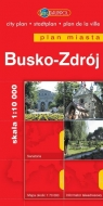Busko-Zdrój Plan miasta 1: 10 000