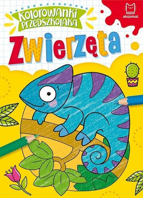 Kolorowanki przedszkolaka Zwierzęta Praca zbiorowa