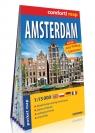 Amsterdam (Amsterdam) kieszonkowy laminowany plan miasta 1:15 000