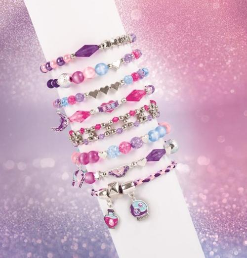 Make it Real Zestaw do tworzenia bransoletek Crystal Dreams z kryształkami Swarovskiego