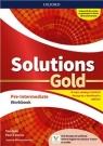 Solutions Gold Pre- Intermediate WB OXFORD Tim Falla i Paul A. Davies