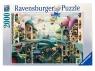 Ravensburger, Puzzle 2000: Gdyba ryba mogła chodzić (168231)
