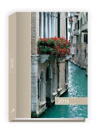Kalendarz B6 kolorowy 2016 Wenecja .
