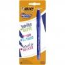 Długopis żelowy zmazywalny BIC Gelocity Illusion - niebieski