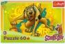 Puzzle 60 elementów Scooby-Doo Bieg do kosza (17223)