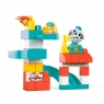 First Builders Klocki A kuku: Zestaw Plac zabaw - zjeżdżalnia (GKX70)