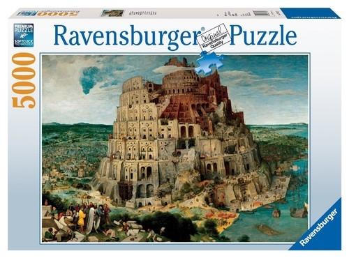 Puzzle Bruegel: Wieża Babel 5000 (RAP174232)