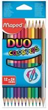 Kredki colorpeps duo dwustronne 12 sztuk (829600)