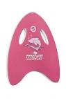 Deska do pływania trójkątna Otylia Team różowa
