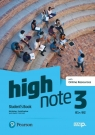 High Note 3. Student's Book + kod (Digital Resources + Interactive eBook) Pack