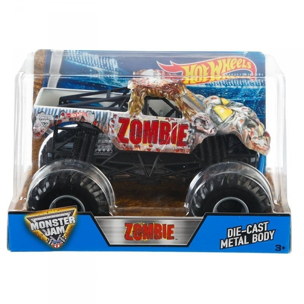 Monster Jam Auta 1:24 Zombie Vehicle (CBY61/BGH24)