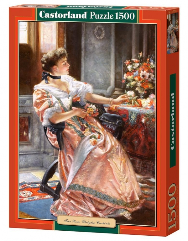 Puzzle 1500 Copy of First roses (151233) .