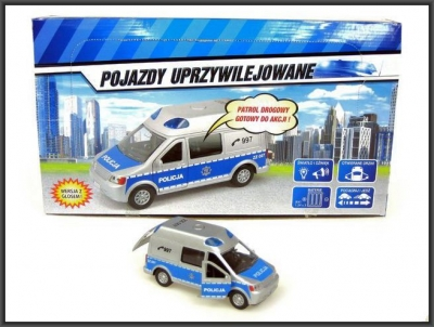 Samochód policyjny Hipo Van (HKG064)