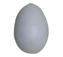 Jajko styropianowe 60 mm (183897)