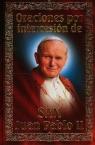 Modlitewnik za wstawiennictwem Świętego Jana Pawła II. Wersja hiszpańska