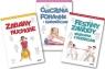 Pakiet 3 książek: Sportowe zabawy przedszkolaków. Zabawy ruchowe. Ćwiczenia Makowska Zofia