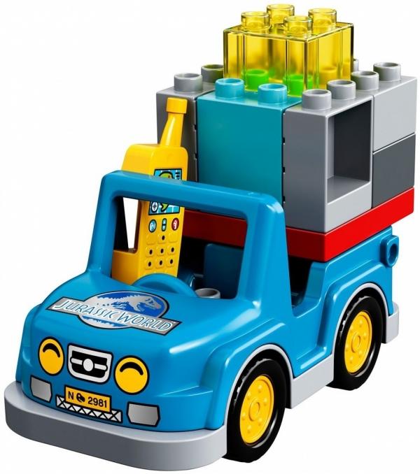 Lego Duplo: Jurassic World - Wieża tyranozaura (10880)