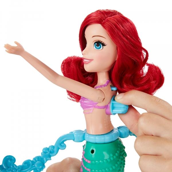 Disney Princess Pływająca Ariel ze zwierzakami (B5308)