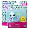 Figurki Littlest Pet Shop Para zwierzaków Bev Gilturtle & Keely Frogget (B9358/E0463)